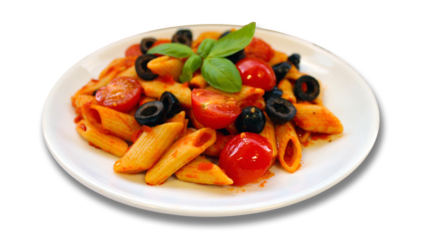 Tomato And Olive Penne Recipe — Dishmaps